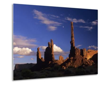 Rock Formations of Monument Valley, Navajo Nation Usa-Jerry Ginsberg-Metal Print