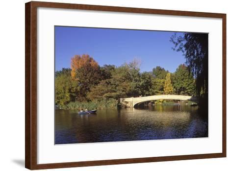 The Lake, Central Park, Manhattan, New York, USA-Peter Bennett-Framed Art Print