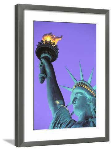 Statue of Liberty, New York, USA-Peter Bennett-Framed Art Print
