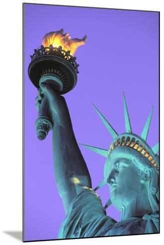 Statue of Liberty, New York, USA-Peter Bennett-Mounted Photographic Print