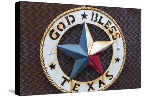 Lone Star of Texas, John Mueller Meat Company, Austin, Texas, USA-Chuck Haney-Stretched Canvas Print