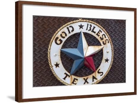 Lone Star of Texas, John Mueller Meat Company, Austin, Texas, USA-Chuck Haney-Framed Art Print