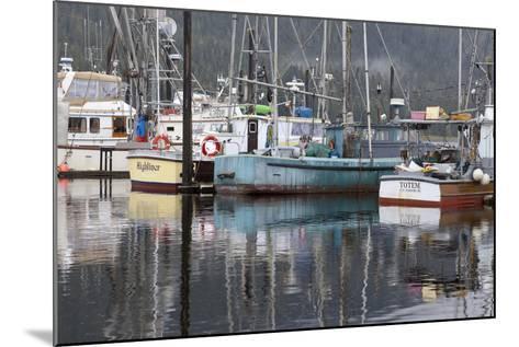 Fishing Boats Moored in Harbor, Petersburg, Alaska, USA-Jaynes Gallery-Mounted Photographic Print