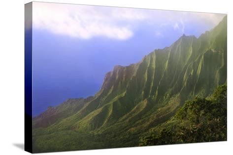 Landscape of the Na Pali Coast Kauai, Hawaii, USA-Jaynes Gallery-Stretched Canvas Print