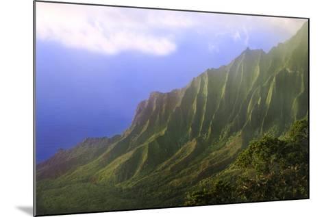 Landscape of the Na Pali Coast Kauai, Hawaii, USA-Jaynes Gallery-Mounted Photographic Print