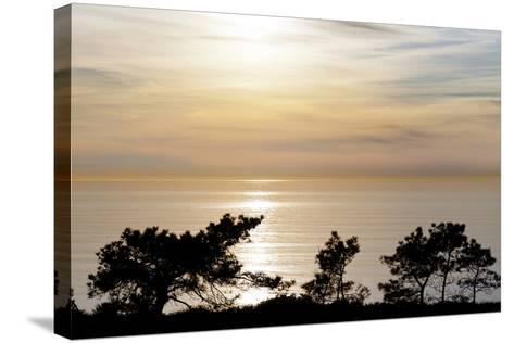 Sunset on Ocean, La Jolla, California, USA-Jaynes Gallery-Stretched Canvas Print