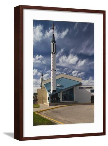 Kansas Cosmosphere and Space Center Exterior, Hutchinson, Kansas, USA-Walter Bibikow-Framed Art Print