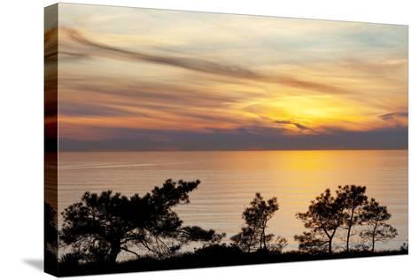 Sunset on Ocean, La Jolla, California, USA-Jaynes Gallery-Stretched Canvas Print