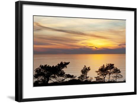 Sunset on Ocean, La Jolla, California, USA-Jaynes Gallery-Framed Art Print