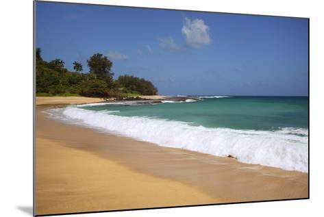 Scenic of Secret Beach, Kauai, Hawaii, USA-Jaynes Gallery-Mounted Photographic Print