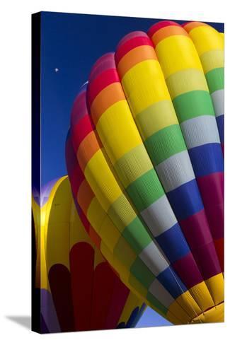 Hot Air Balloon Closeup, Albuquerque, New Mexico, USA-Maresa Pryor-Stretched Canvas Print
