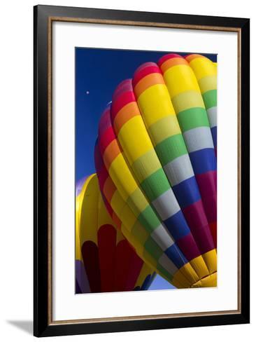 Hot Air Balloon Closeup, Albuquerque, New Mexico, USA-Maresa Pryor-Framed Art Print