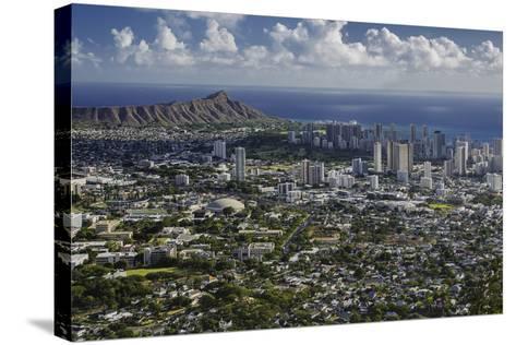 Honolulu, Hawaii, USA-Charles Crust-Stretched Canvas Print