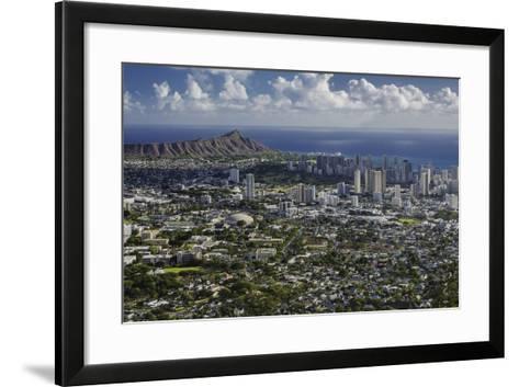 Honolulu, Hawaii, USA-Charles Crust-Framed Art Print