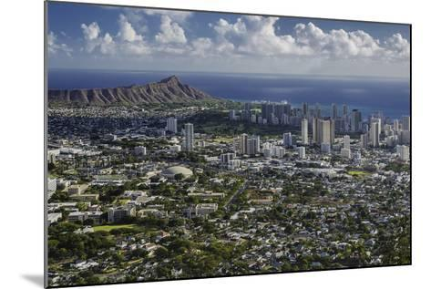 Honolulu, Hawaii, USA-Charles Crust-Mounted Photographic Print