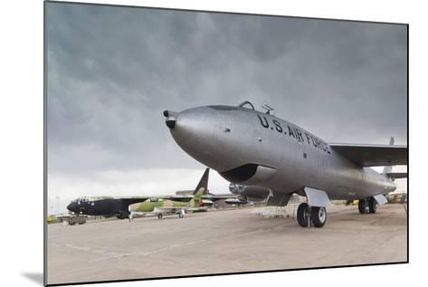 Boeing B-47, Kansas Aviation Museum, Wichita, Kansas, USA-Walter Bibikow-Mounted Photographic Print