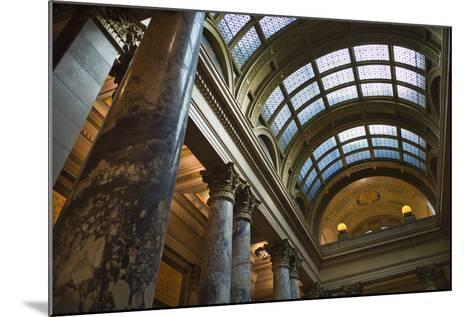 Minnesota State Capitol Interior, Stpaul, Minneapolis, Minnesota, USA-Walter Bibikow-Mounted Photographic Print