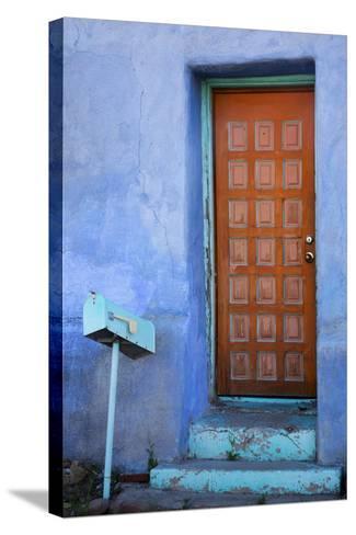 Colorful Doorway, Barrio Historico District,Tucson, Arizona, USA-Jamie & Judy Wild-Stretched Canvas Print