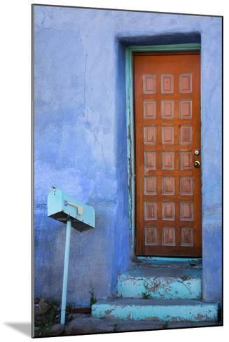 Colorful Doorway, Barrio Historico District,Tucson, Arizona, USA-Jamie & Judy Wild-Mounted Photographic Print