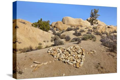 Arrow Through Heart, Joshua Tree NP, California, USA-Jaynes Gallery-Stretched Canvas Print