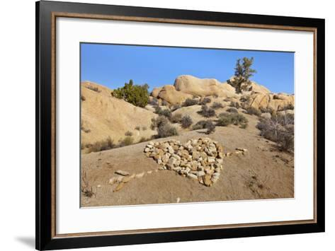Arrow Through Heart, Joshua Tree NP, California, USA-Jaynes Gallery-Framed Art Print