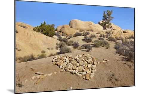 Arrow Through Heart, Joshua Tree NP, California, USA-Jaynes Gallery-Mounted Photographic Print