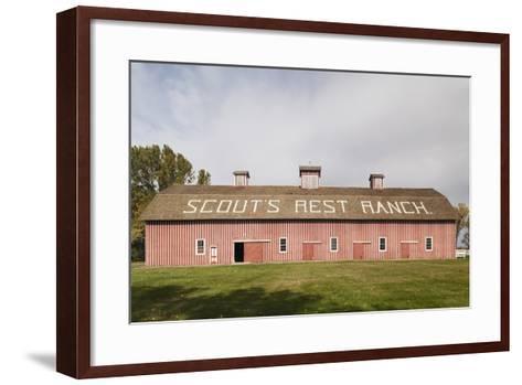 Scout's Rest Ranch, North Platte, Nebraska, USA-Walter Bibikow-Framed Art Print