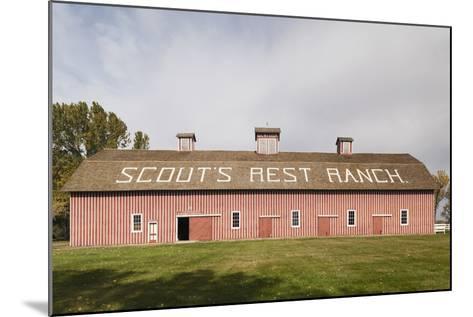 Scout's Rest Ranch, North Platte, Nebraska, USA-Walter Bibikow-Mounted Photographic Print