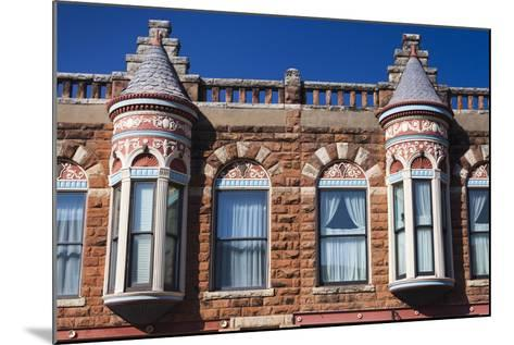 Downtown Historic Buildings, Guthrie, Oklahoma, USA-Walter Bibikow-Mounted Photographic Print