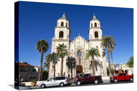 Saint Augustine Cathedral, Tucson, Arizona, USA-Jamie & Judy Wild-Stretched Canvas Print
