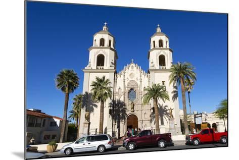 Saint Augustine Cathedral, Tucson, Arizona, USA-Jamie & Judy Wild-Mounted Photographic Print
