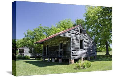 Slave Cabin, Vacherie, New Orleans, Louisiana, USA-Cindy Miller Hopkins-Stretched Canvas Print