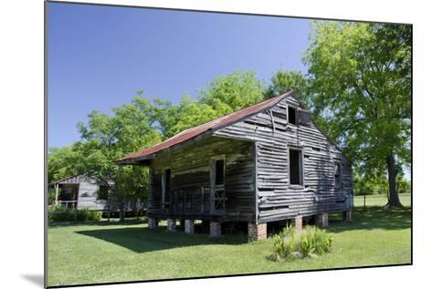 Slave Cabin, Vacherie, New Orleans, Louisiana, USA-Cindy Miller Hopkins-Mounted Photographic Print