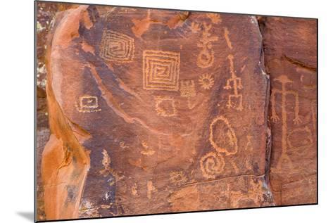 Petroglyphs, V Bar V Heritage Site, Arizona, USA-Jamie & Judy Wild-Mounted Photographic Print
