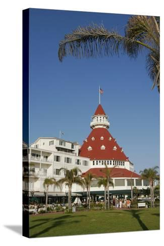 Hotel Del Coronado, Coronado, San Diego, California, USA-Peter Bennett-Stretched Canvas Print