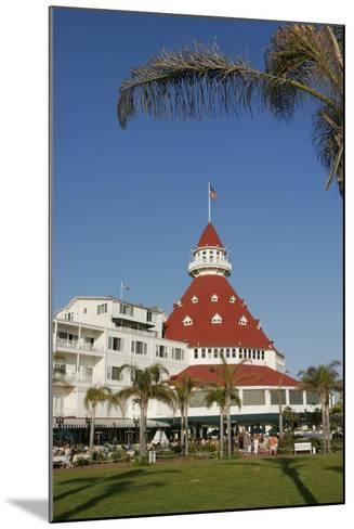 Hotel Del Coronado, Coronado, San Diego, California, USA-Peter Bennett-Mounted Photographic Print