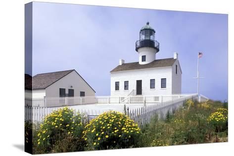 Point Loma Lighthouse, San Diego, California, USA-Peter Bennett-Stretched Canvas Print