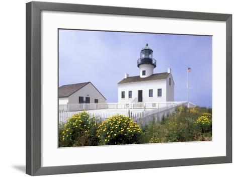 Point Loma Lighthouse, San Diego, California, USA-Peter Bennett-Framed Art Print