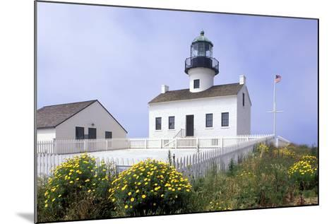 Point Loma Lighthouse, San Diego, California, USA-Peter Bennett-Mounted Photographic Print
