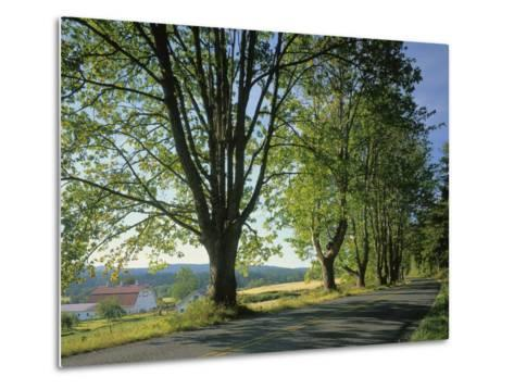 Crow Valley, Orcas Island, Washington, USA-Charles Gurche-Metal Print