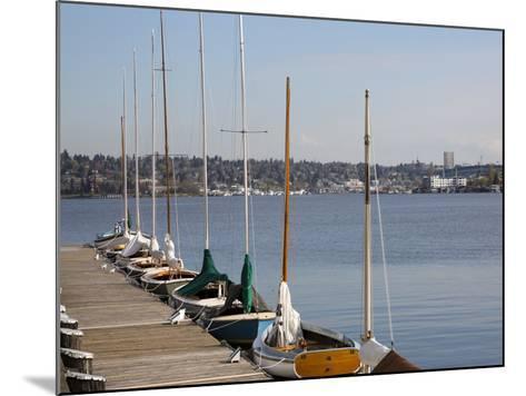 Center for Wooden Boats, Lake Union, Seattle, Washington, USA-Jamie & Judy Wild-Mounted Photographic Print