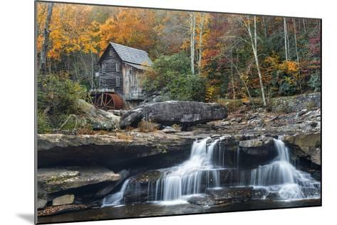 Grist Mill on Glade Creek at Babcock State Park, West Virginia, USA-Chuck Haney-Mounted Photographic Print