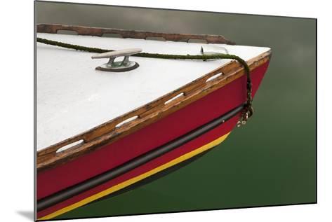 Bow of Boat at Orcas Island, Deer Harbor, Washington, USA-Jaynes Gallery-Mounted Photographic Print