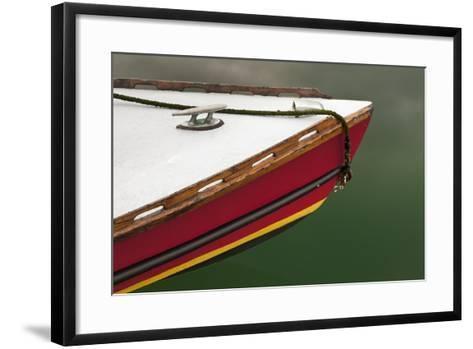 Bow of Boat at Orcas Island, Deer Harbor, Washington, USA-Jaynes Gallery-Framed Art Print