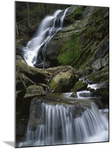 Crabtree Falls, Nelson Co, Virginia, USA-Charles Gurche-Mounted Photographic Print