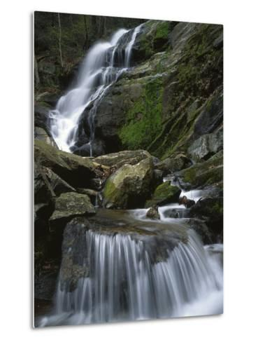 Crabtree Falls, Nelson Co, Virginia, USA-Charles Gurche-Metal Print