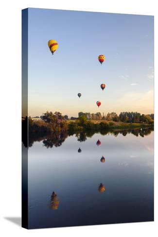 Prosser Balloon Rally Goes Aloft Each Summer, Prosser, Washington, USA-Richard Duval-Stretched Canvas Print