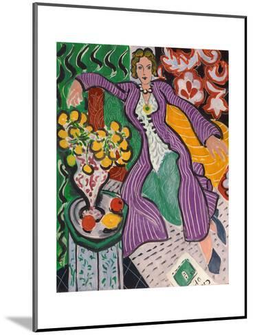 Woman in a Purple Coat, 1937-Henri Matisse-Mounted Giclee Print