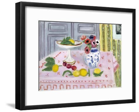 The Pink Tablecloth, 1925-Henri Matisse-Framed Art Print