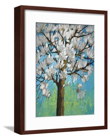 Magnolia in Bloom 1-J Charles-Framed Art Print